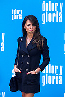 The actress Penelope Cruz  attends the photocall of the movie 'Dolor y gloria' in Villa Magna Hotel, Madrid 12th March 2019. (ALTERPHOTOS/Alconada) /NortePhoto.con NORTEPHOTOMEXICO