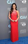 SANTA MONICA, CA - JANUARY 11: Actor/host Olivia Munn attends The 23rd Annual Critics' Choice Awards at Barker Hangar on January 11, 2018 in Santa Monica, California.
