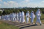 Ancient Order of Druids. Autumn Equinox September 22 Primrose Hill London.