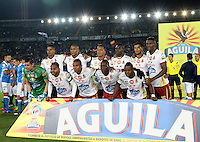 BOGOTA -COLOMBIA, 22-02-2017. Team of Deprtes Tolima .Action game beteween  Millonarios  and Tolima  during match for the date 5 of the Aguila League I 2017 played at Nemesio Camacho El Campin stadium . Photo:VizzorImage / Felipe Caicedo  / Staff