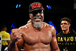 HOLLYWOOD, FL - SEPTEMBER 05: Shannon Briggs during the World Heavyweight Champions Fight Night at Hard Rock Live! in the Seminole Hard Rock Hotel & Casino on September 5, 2015 in Hollywood, Florida. Briggs won the bout by second round KO. ( Photo by Johnny Louis / jlnphotography.com )