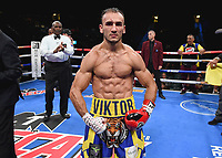 LAS VEGAS - NOVEMBER 23: Victor Slavinskyi on the Fox Sports PBC Fight Night at the MGM Grand Garden Arena on November 23, 2019 in Las Vegas, Nevada. (Photo by Frank Micelotta/Fox Sports/PictureGroup)