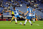 League Santander 2017-2018 - Game: 4.<br /> RCD Espanyol vs Celta: 2-1.<br /> Gerard Moreno &amp; Jose Manuel Jurado.