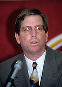 "Norval E. ""Norv"" Turner is announced as the head coach of the Washington Redskins durng a press conference at Redskins Park in Ashburn, Virginia on February 2, 1994..Credit: Ron Sachs / CNP"