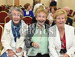 Phyllis Rooney, Ester Kilmurray and Barbara Tiernan at the official opening of the new Associated Bridge Clubs of Drogheda (ABCD) headquaters on the Fair Green. Photo:Colin Bell/pressphotos.ie