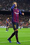 UEFA Champions League 2018/2019 - Matchday 3.<br /> FC Barcelona vs FC Internazionale Milano: 2-0.<br /> Gerard Pique.