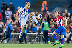Sergio Canales Madrazo of Real Sociedad in action during their La Liga match between Atletico de Madrid vs Real Sociedad at the Vicente Calderon Stadium on 04 April 2017 in Madrid, Spain. Photo by Diego Gonzalez Souto / Power Sport Images
