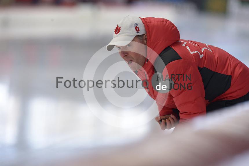 SPEEDSKATING: INZELL: Max Aicher Arena, 09-02-2019, ISU World Single Distances Speed Skating Championships, Bart Schouten (trainer/coach Canada), ©photo Martin de Jong