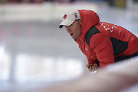 SPEEDSKATING: INZELL: Max Aicher Arena, 09-02-2019, ISU World Single Distances Speed Skating Championships, Bart Schouten (trainer/coach Canada), ©photo Martin de Jong