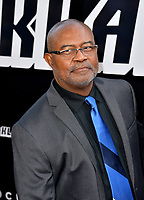 Ron Stallworth at the Los Angeles premiere of &quot;BlacKkKlansman&quot; at the Academy's Samuel Goldwyn Theatre, Beverly Hills, USA 08 Aug. 2018<br /> Picture: Paul Smith/Featureflash/SilverHub 0208 004 5359 sales@silverhubmedia.com