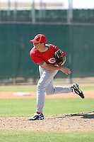 Blair Carson, Cincinnati Reds 2010 minor league spring training..Photo by:  Bill Mitchell/Four Seam Images.