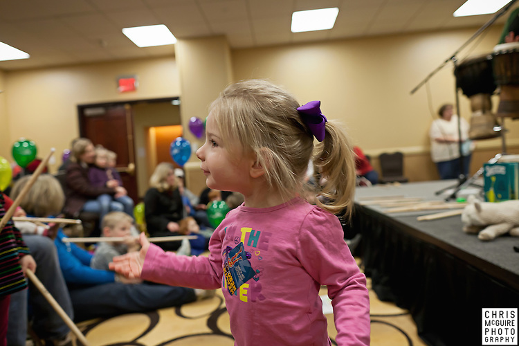 02/12/12 - Kalamazoo, MI: Kalamazoo Baby & Family Expo.  Photo by Chris McGuire.  R#18