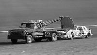 Rick Mast (66) Chevrolet wrecker 31st place Atlanta Journal 500 at Atlanta International Raceway in Hampton , GA on November 19, 1989.  (Photo by Brian Cleary/www.bcpix.com)