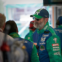 Henri Pescarolo, Team Manager of Pescarolo Sport, here in the box of the Pescarolo Judd #16, during the race of 1000km, Sunday, May 10, 2009, in Spa-Francorchamps, Belgium (Valentin Bianchi/pressphotointl.com)