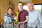 Local Hero Award winner Donal Walsh pictured with his parents Finbarr and Elma Walsh.