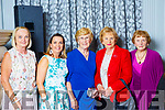 Tralee friends Noreen Power, Grainne O\Sullivan, Bridie O'Sullivan, Peggy King and Marie King