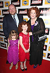 Liz McCartney & Family attending the Broadway Opening Night Performance After Party for 'Annie' at the Hard Rock Cafe in New York City on 11/08/2012