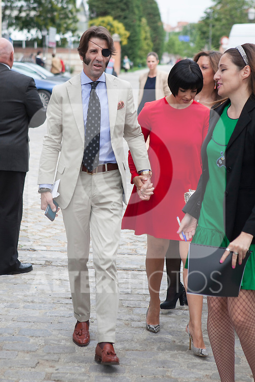 "Bullfighter Juan Jose Padilla attends the ""REY DE ESPAÑA"" International Journalism Awards and ¨DON QUIJOTE"" Journalism Award in Madrid, Spain. May 27, 2014. (ALTERPHOTOS/Victor Blanco)"