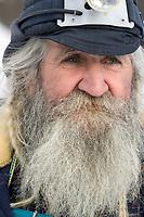 Charlie Boulding After Scratching @ Anvik Iditarod 2005