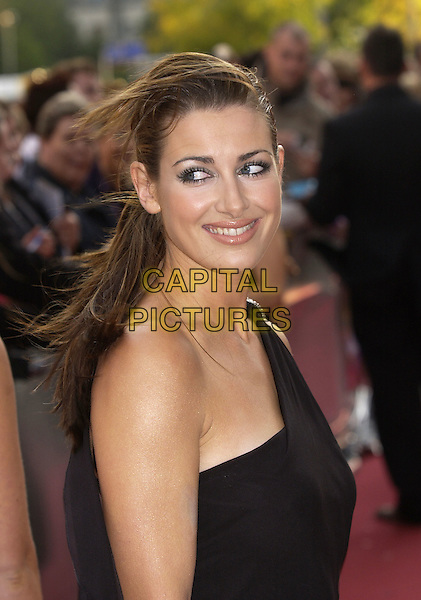 "KIRSTY GALLAGHER.ITV's ""The Celebrity Awards"".London 26 September 2004.headshot, portrait, off the shoulder.www.capitalpictures.com.sales@capitalpictures.com.©Capital Pictures"
