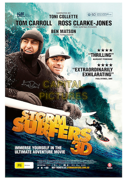 ORIGINAL AUSTRALIAN POSTER ART<br /> in Storm Surfers 3D (2012) <br /> *Filmstill - Editorial Use Only*<br /> CAP/FB<br /> Image supplied by Capital Pictures