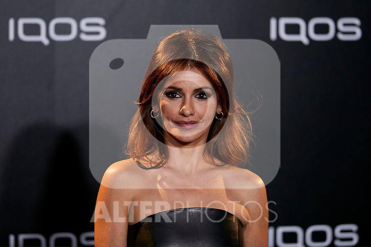 Monica Cruz attends to IQOS3 presentation at Palacio de Cibeles in Madrid, Spain. February 13, 2019. (ALTERPHOTOS/A. Perez Meca)