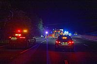 2019 09 04 crash on the M25 near junction 6, UK