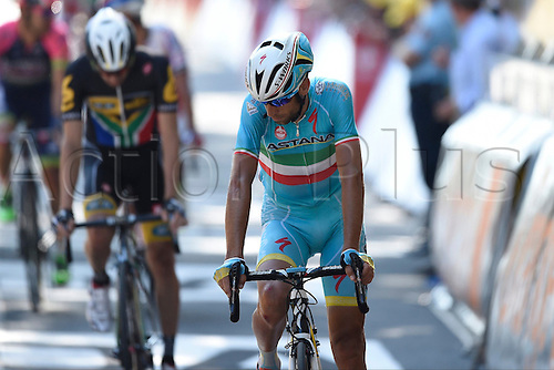 09.07.2015 Le Havre, France.  NIBALI Vincenzo of Astana Pro Team during stage 6 of the 102nd edition of the Tour de France 2015 with start in Abbeville and finish in Le Havre, France (191 kms)