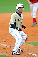 4 March 2012:  FIU infielder/outfielder Adam Kirsch (10) rounds third base as the FIU Golden Panthers defeated the Brown University Bears, 8-3, at University Park Stadium in Miami, Florida.