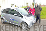 Mick O'Connell Electrical, Susan Whyte Marketing Assistant ESB ecars and Donal Hunt ESB ecar Ambassador who took part in a electric Car trial for three months.