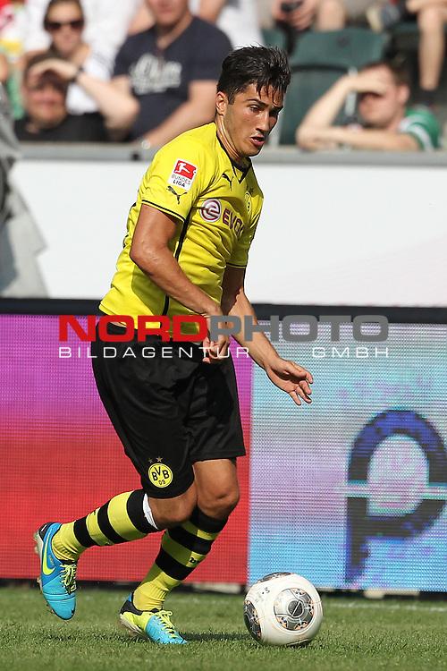 20.07.2013, Borussia Park, Moenchengladbach, GER, Telekom Cup 2013, Borussia Moenchengladbach vs Borussia Dortmund, im Bild<br /> Nuri Sahin (Dortmund #18)<br /> <br /> Foto &copy; nph / Mueller