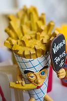Europe/Belgique/Flandre/Flandre Occidentale/Bruges: Le Musée de la Frite, Friet Museum // Belgium, Western Flanders, Bruges: Frietmuseum in Bruges is the first and only museum dedicated to potato fries. Belgian fries