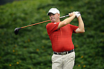 TAIPEI, TAIWAN - NOVEMBER 18:  John Gould of England tees off on the 12th hole during day one of the Fubon Senior Open at Miramar Golf & Country Club on November 18, 2011 in Taipei, Taiwan.  Photo by Victor Fraile / The Power of Sport Images