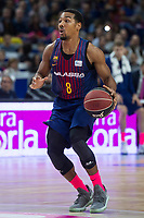 FC Barcelona Lassa Phil Pressey during Liga Endesa match between Estudiantes and FC Barcelona Lassa at Wizink Center in Madrid, Spain. October 22, 2017. (ALTERPHOTOS/Borja B.Hojas) /NortePhoto.com