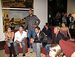 **EXCLUSIVE**.Roselyn Sanchez, Eric Winter, Eva Longoria Parker, Adam Rodriguez and Tony Parker watching the fight between Manny Pacquiao and Ricky Hattonon on TV..The Rally for Kids with Cancer Scavenger Cup - Winners Gala..Private Mansion, Beverly Park..Beverly Hills, CA, USA.Saturday, May 02, 2009. .Photo By Celebrityvibe.com.To license this image please call (212) 410 5354; or Email: celebrityvibe@gmail.com ;.website: www.celebrityvibe.com