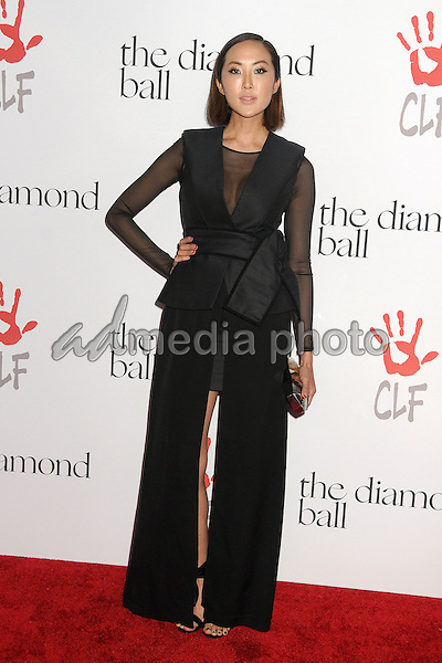 10 December 2015 - Santa Monica, California - Chriselle Lim. 2nd Annual Diamond Ball held at Barker Hangar. Photo Credit: Byron Purvis/AdMedia