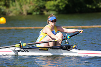 Race: 3  Event: Aspirational 1x<br /> Crew: 50  Club: Warrington<br /> <br /> Henley Women's Regatta 2018<br /> Friday<br /> <br /> To purchase this photo, or to see pricing information for Prints and Downloads, click the blue 'Add to Cart' button at the top-right of the page.