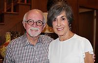 NWA Democrat-Gazette/CARIN SCHOPPMEYER Dick and Nancy Trammel enjoy An Evening with the Maestro.