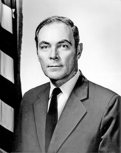 Washington, D.C. - October 30, 1973 -- White House Chief of Staff General Alexander Meigs Haig, Jr., United Atates Army, dated October 30, 1973..Credit: White House via CNP
