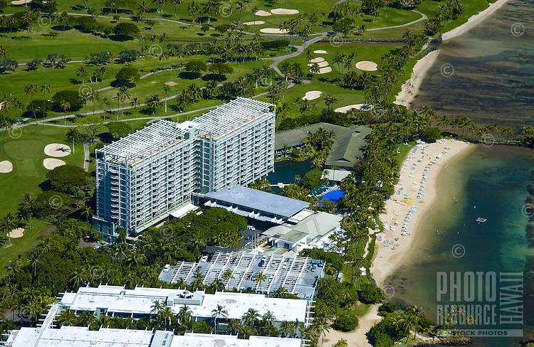 Aerial view of Kahala Mandarin Hotel & Resort