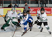 MORDEN, MB– Nov 8 2019: Game 14 - Team Ontario Blue v Team Saskatchewan during the 2019 National Women's Under-18 Championship at the Access Event Centre in Morden, Manitoba, Canada. (Photo by Dennis Pajot/Hockey Canada Images)
