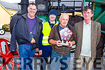 Paddy O&rsquo;Shea Memorial Trophy presented to Paddy O&rsquo;Donnell from the Windmill Threshing Committee in Blennerville on Sunday. <br /> L-r, John Kerins, Michael Curran, Paddy O&rsquo;Donnell and Pat O&rsquo;Shea.