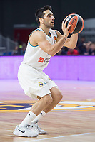 Real Madrid Facundo Campazzo during Turkish Airlines Euroleague match between Real Madrid and CSKA Moscu at Wizink Center in Madrid, Spain. October 19, 2017. (ALTERPHOTOS/Borja B.Hojas) /NortePhoto.com