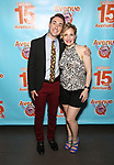 Jason Jacoby and Maggie Lakis attends the 'Avenue Q' - 15th Anniversary Performance Celebration at Novotel on July 31, 2018 in New York City.