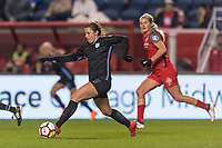 Bridgeview, IL - Saturday March 31, 2018: Sofia Huerta during a regular season National Women's Soccer League (NWSL) match between the Chicago Red Stars and the Portland Thorns FC at Toyota Park.