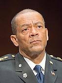 Sheriff David A. Clarke Jr. of Milwaukee County, Wiusconsin testifies during the United States Senate Committee on the Judiciary hearing on the confirmation of Loretta Lynch, United States Attorney For The Eastern District Of New York, U.S. Department of Justice, Brooklyn, NY as U.S. Attorney General on Capitol Hill in Washington, D.C. on Thursday, January 29, 2015. <br /> Credit: Ron Sachs / CNP