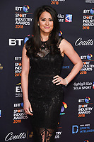 Sam Quek<br /> arriving for the BT Sport Industry Awards 2018 at the Battersea Evolution, London<br /> <br /> ©Ash Knotek  D3399  26/04/2018