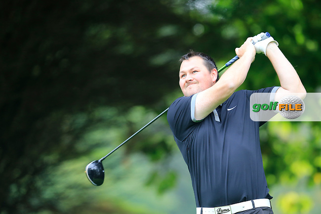 Brian Kerley (Green Life GC) during the first round of the Irish PGA Championship, Dundalk Golf Club, Dundalk Co Louth. 01/10/2015<br /> Picture Golffile | Fran Caffrey | PGA<br /> <br /> <br /> All photo usage must carry mandatory copyright credit (&copy; Golffile | Fran Caffrey | PGA)