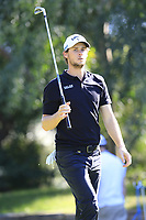 Thomas Pieters (BEL) walks off the 18th tee during Friday's Round 2 of the 2018 Turkish Airlines Open hosted by Regnum Carya Golf &amp; Spa Resort, Antalya, Turkey. 2nd November 2018.<br /> Picture: Eoin Clarke | Golffile<br /> <br /> <br /> All photos usage must carry mandatory copyright credit (&copy; Golffile | Eoin Clarke)