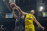 10.05.2019, EWE Arena, Oldenburg, GER, easy Credit-BBL, EWE Baskets Oldenburg vs Mitteldeutscher BC, im Bild<br /> Philipp SCHWETHELM (EWE Baskets Olldenburg #33 ) James FARR (Mitteldeutscher BC #2 )<br /> <br /> Foto © nordphoto / Rojahn